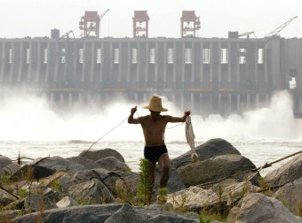 Chinese hydropower electrifies southeast Asia, but at a cost