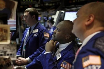 US stocks recover some of losses as global markets eye Trump woes