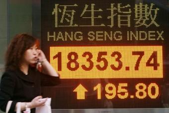 Hong Kong stocks slightly lower at open