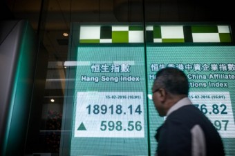 Hong Kong stocks end morning with fresh gains