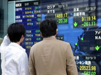 Most Asia markets up after Wall St record, China growth stable