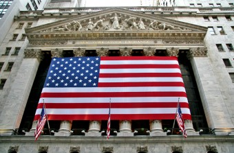Wall Street ends at fresh records; Spanish stocks gain