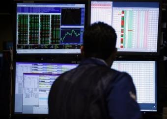 US stocks end mixed as hiring slows