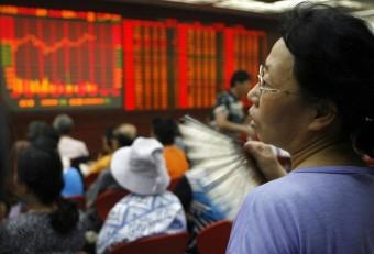 Hong Kong stocks down at break after three-day rally